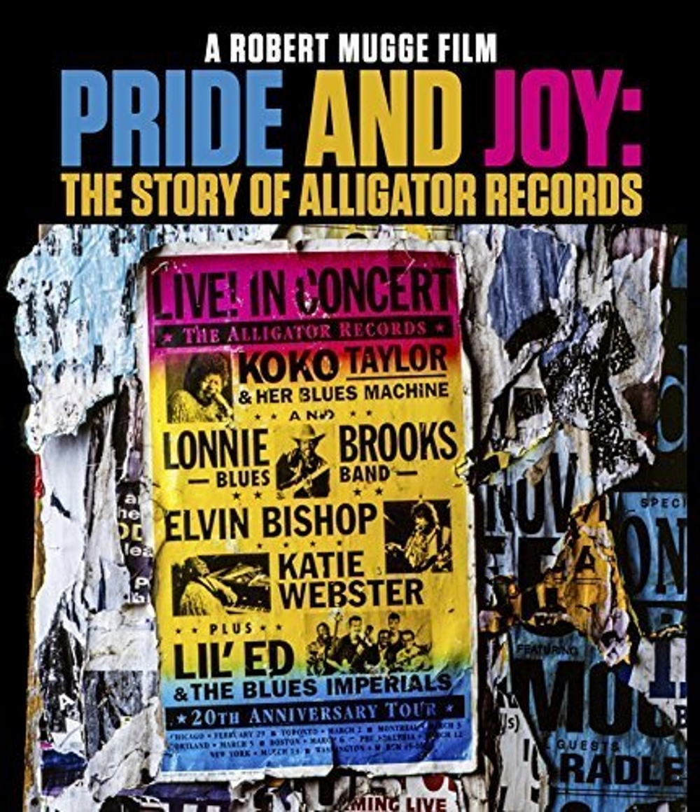 Pride and joy the story of alligator records  blu ray 2016
