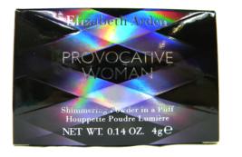 ELIZABETH ARDEN PROVOCATIVE WOMAN BODY POWDER IN A PUFF NEW BOXED - $4.00