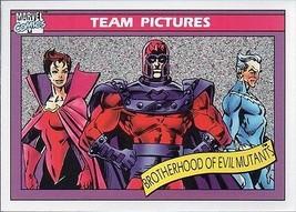 BROTHERHOOD OF EVIL MUTANTS 1990 MARVEL COMICS IMPEL CARD # 145 - $1.24