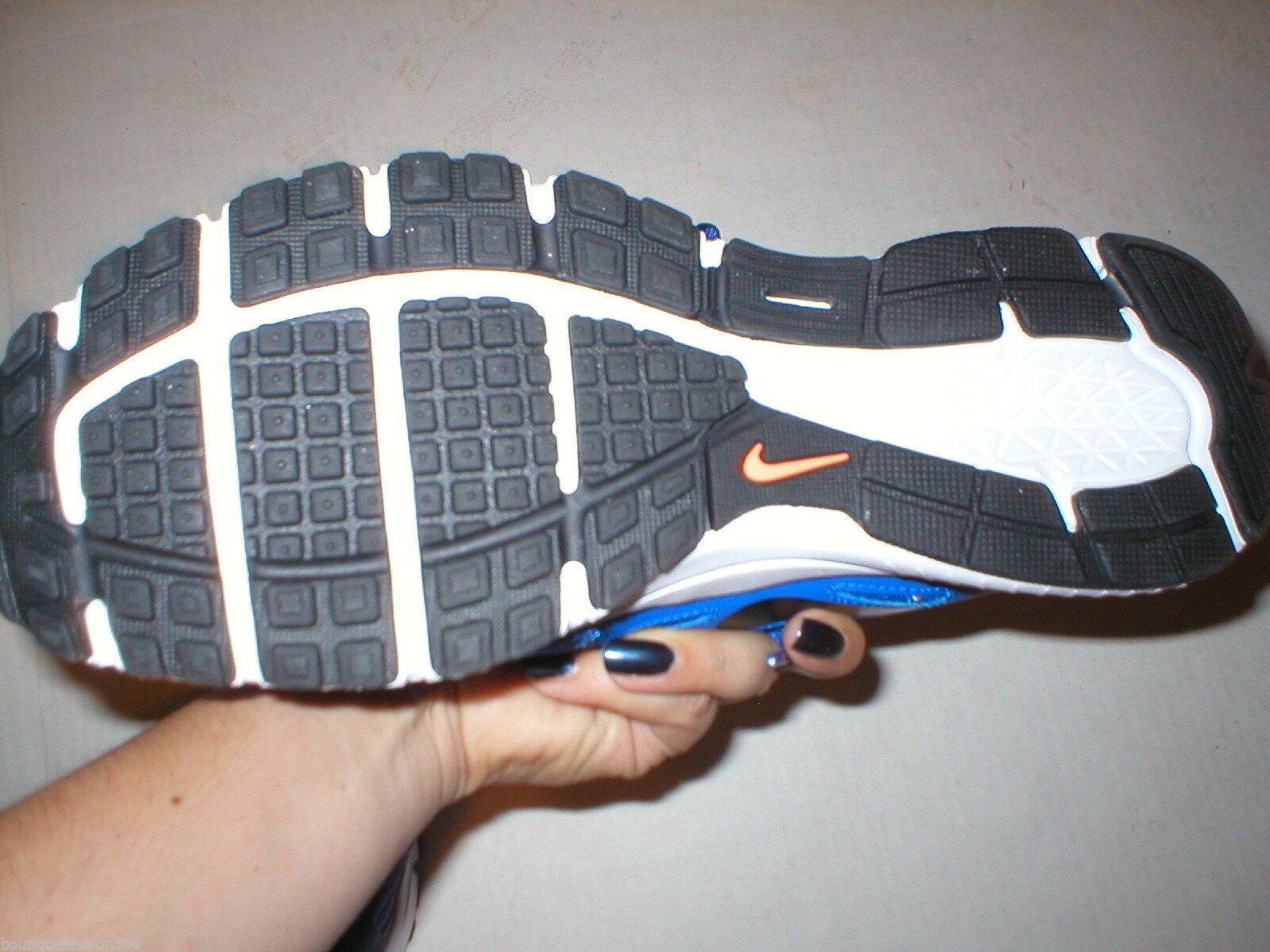 New Mens Nike Training Running Shoes 9 Mens Blue White Orange 10 Womens Casual
