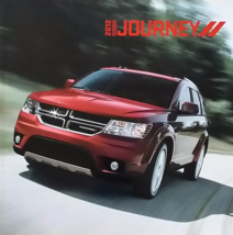 2012 Dodge JOURNEY sales brochure catalog 12 AVP SE SXT Crew R/T - $6.00