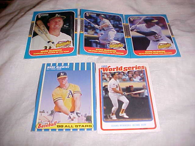 Primary image for 5 CARD LOT MARK MCGIRE
