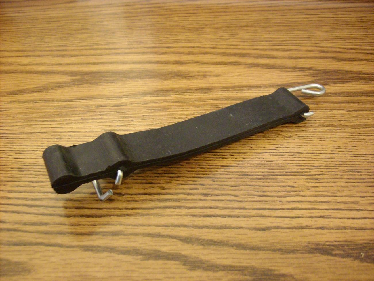 MTD and Montgomery ward grass catcher tube strap 723-0383