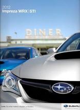 2012 Subaru IMPREZA WRX sales brochure catalog US 12 STI Limited - $10.00