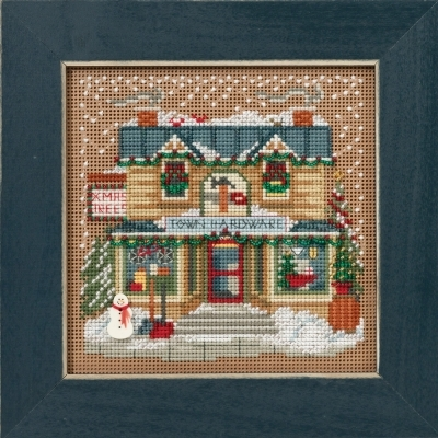 Primary image for Town Hardware Winter Collection 2016 Buttons and Bead kit Mill Hill