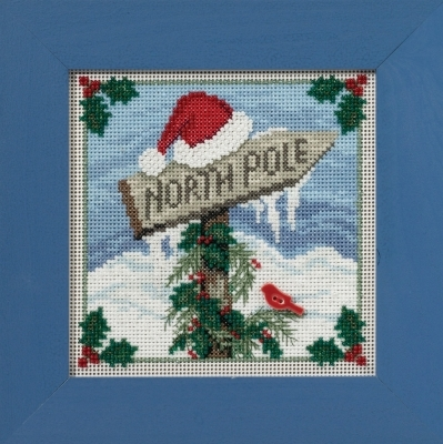 Primary image for North Pole 2016 Winter Collection Buttons and Bead kit Mill Hill