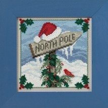 North Pole 2016 Winter Collection Buttons and Bead kit Mill Hill  - $12.60