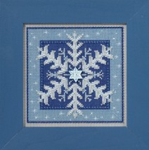 Crystal Snowflake 2016 Winter Collection Buttons and Bead kit Mill Hill  - $12.60