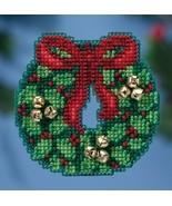 Jingle Bell Wreath Winter Series 2016 seasonal ... - $6.75