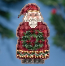 Ye Olde Santa Winter Series 2016 seasonal ornament kit cross stitch - $6.75