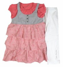 6x Girl's Tunic & Leggings 2-Piece Set Outfit Calvin Klein Jeans NEW
