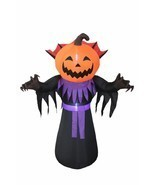 Halloween Inflatable Pumpkin Ghost Monster Garden Yard Party Decoration ... - £64.36 GBP