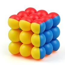 YJ Sphere Ball cube 3x3x3 Magic Cube 3Layer Stickerless Smooth Professional - $154.00