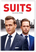 Suits fifth season five 5  dvd  2016  4 disc  thumb200