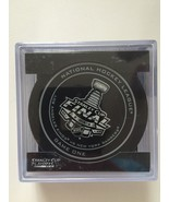 2014 National Hockey League Stanley Cup Playoffs Souvenir Puck Game One - $19.79
