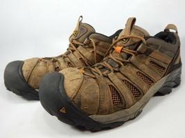 Keen Flint bajo Top Talla 12 M (D) Eu 46 Hombre Acero Punta Utilidad Work Shoes - $29.46