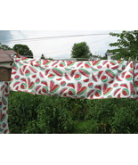 Vintage Lot Watermelon Cafe Curtains Panels Val... - $20.00
