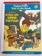 Fisher Price Talk To Me Player Book A VISIT WITH WINNIE THE POOH #22 - $9.49