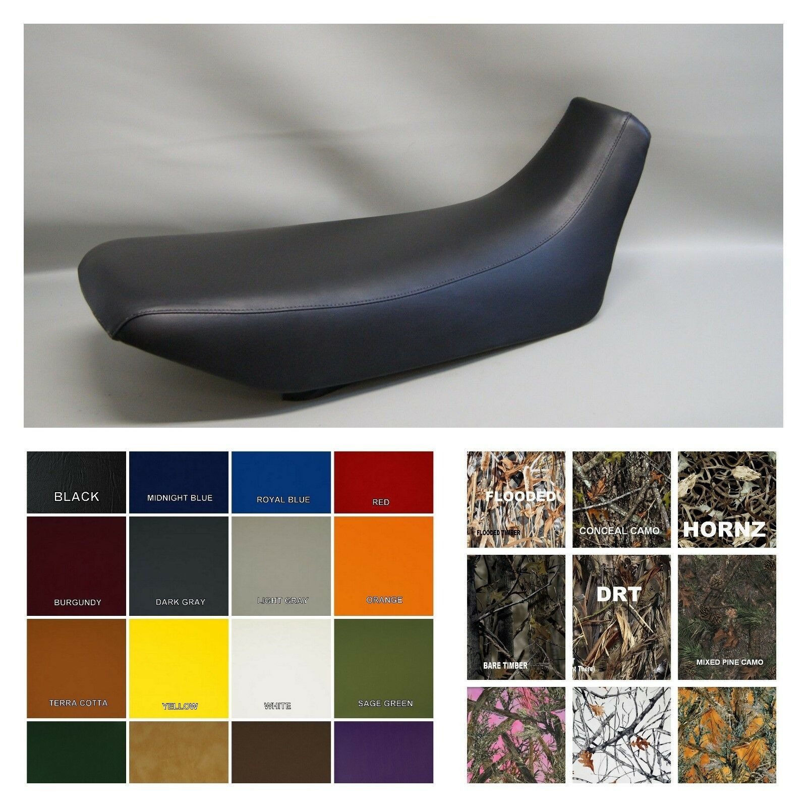 Primary image for Honda NX650 Seat Cover 1988 1989 VPS Dominator NX 650 in 25 Colors  (PS)