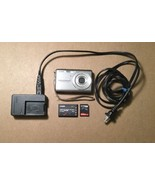 CASIO EXILIM EX-Z75 DIGITAL CAMERA 7.2 MP Battery, Charger, Memory Card - $29.02