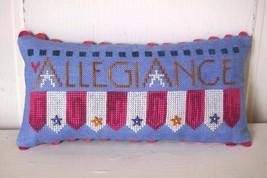 Allegiance cross stitch chart SamSarah Designs - $11.70