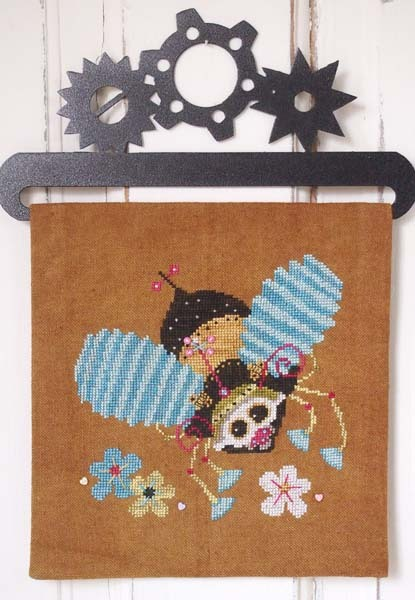 Primary image for Steam Punk Bumble Bee cross stitch chart SamSarah Designs