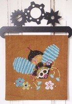 Steam Punk Bumble Bee cross stitch chart SamSar... - $13.05