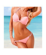 Push-Ups Swimwear Swimsuit Bathing Suit Bikini  pink  S - £13.07 GBP