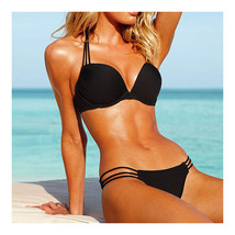 Push-Ups Swimwear Swimsuit Bathing Suit Bikini  black  S - $15.99