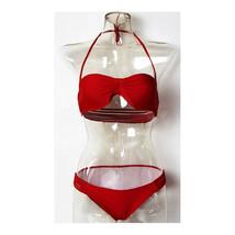 Women Swimwear Swimsuit Bikini Bathing Suit  red  S - $15.99