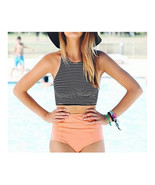 Microgroove Sports High Waist Bikini Women Swimwear SPA  S - $15.99