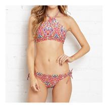 Swimwear Swimsuit Triangle Bikini Floral Microgroove Women Sexy   S - $17.99