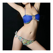 Sexy Swimsuit Swimwear Women Bikini   blue  S - $15.99
