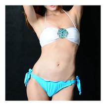 Swimsuit Swimwear Bikini Women Sexy   lake blue  S - $17.99