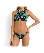 Bikini Set Feather Digital Printing Womens Swimwear Swimsuit  S - £11.94 GBP