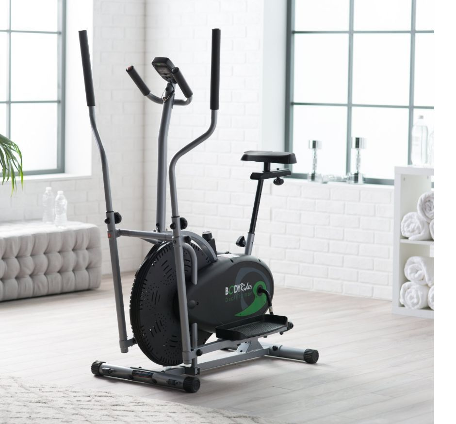 Elliptical Cardio Fitness Tone Weight Loss Bike Equipment Home Gym Full Body New