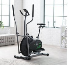 Elliptical Cardio Fitness Tone Weight Loss Bike Equipment Home Gym Full ... - $198.94