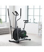Elliptical Cardio Fitness Tone Weight Loss Bike Equipment Home Gym Full ... - £142.01 GBP