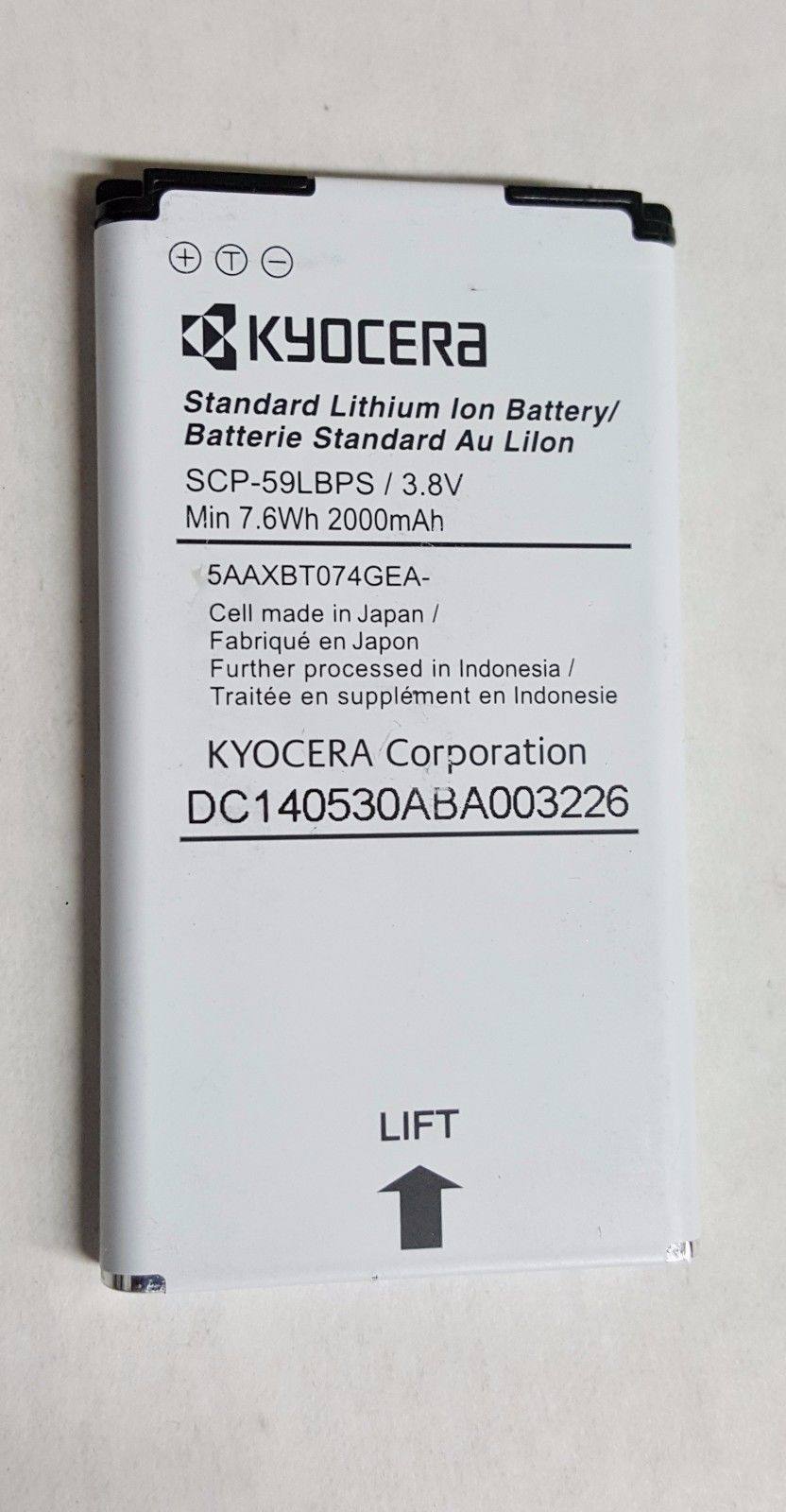 Oem Original Kyocera Scp 59 Lbps Battery For and 50 similar items