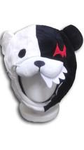 Danganronpa's strange teddy bear Monokuma Beanie Cap Furry Plush Cosplay... - €7,09 EUR