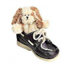 "Boyds Bears ""Skippy ..All Tied Up"" Bear Foot Friends- #641005- New- 2001 - $23.99"