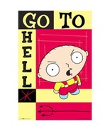 CARTOON POSTER ~ FAMILY GUY STEWIE GRIFFIN GO T... - $0.98