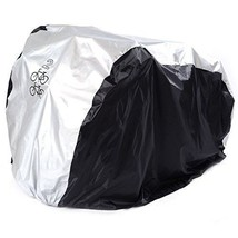 Bike Cover For 2 Bikes Double XL Waterproof Outside Twin Bicycle Cycle B... - $19.47