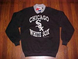Swingster MLB AL 1991 Chicago White Sox Black Pullover Long Sleeve Fleec... - $49.49