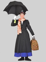 EXCELLENT WOMEN'S MARY POPPINS DELUXE HALLOWEEN COSTUME SMALL - $299.95