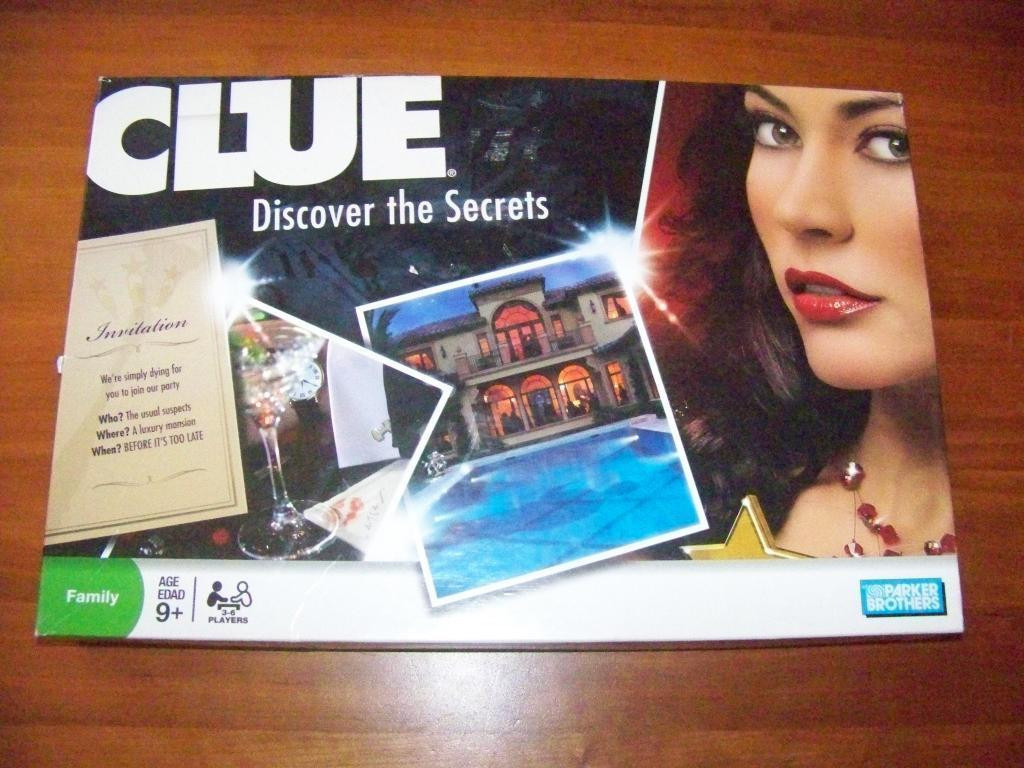 Clue Discover The Secrets Game Parker Brothers 2008 Brand New In Box!! - $28.37