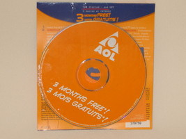 AOL CANADA 2002 YELLOW 3 MONTHS FREE PROMO CD NEW SEALED ## - $5.13