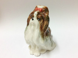 Handmade Miniature Ceramic Shihtzu Dog Breed FI... - $4.95
