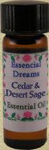 Cedar & Desert Sage Essential Oil 1 dram - $7.00