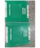 1989 DODGE RAM RAIDER TRUCK Service Repair Shop Manual SET DEALERSHIP